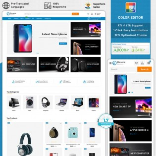 Elevatic - The Best Electronic PrestaShop Theme