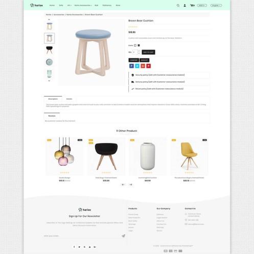 Hariox - The Best Furniture PrestaShop Theme