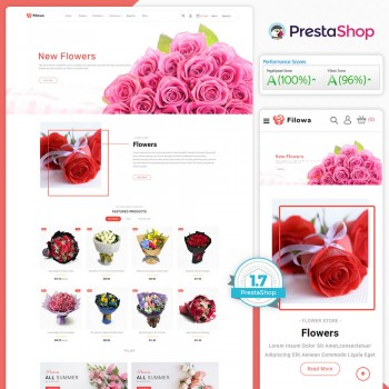 Filowa- The Flower PrestaShop Theme