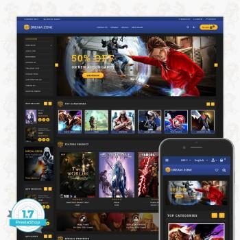 GameZone Responsive PrestaShop Theme