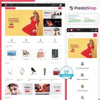 Intermart - The MultiStore PrestaShop Theme