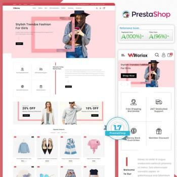 Woriox - The Fashion PrestaShop Theme