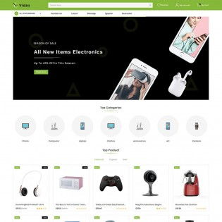Vidza - The Electronics PrestaShop Theme