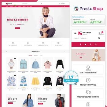 Neckies - The Fashion PrestaShop Theme