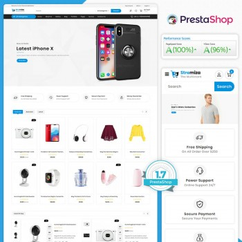 Stremiza - The MultiStore PrestaShop Theme