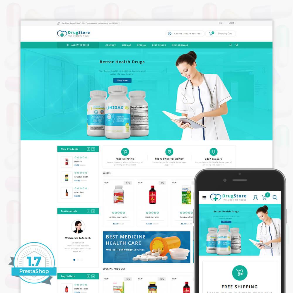 DrugStore Template