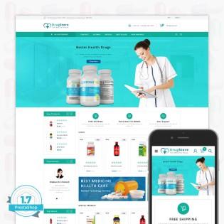 DrugStore PrestaShop Theme