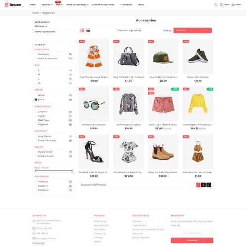 Brezan - The Fashion PrestaShop Theme
