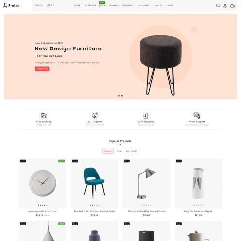 Finizo - The Furniture PrestaShop Theme