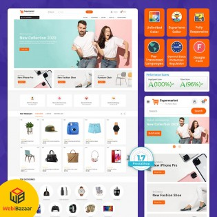 Super Market - Electronics Shopping Store Template