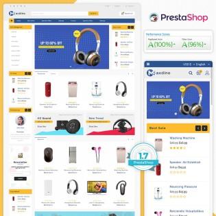 Maxdino - Electronics PrestaShop Theme