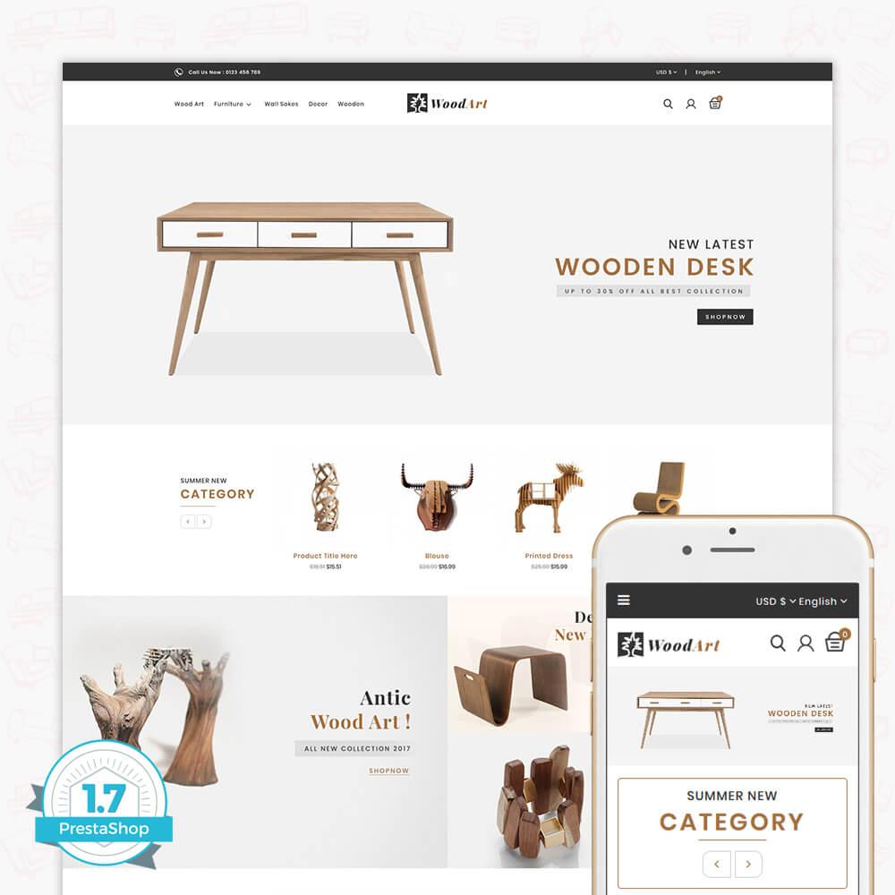 WoodArt - The Furniture Store Template